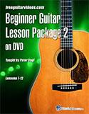Beginning Guitar Package Vol. 2 DVD