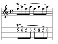 tremolo bar lick 3