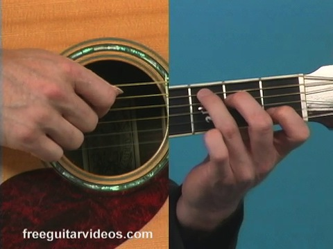 acoustic chord progression in g