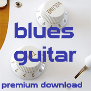 blues guitar bends