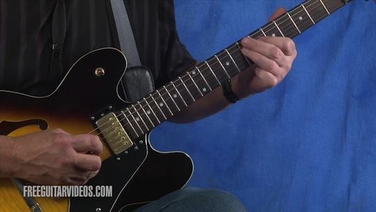 electric guitar lick lesson. Black Bedroom Furniture Sets. Home Design Ideas