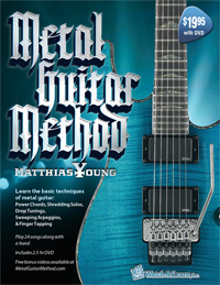 Metal Guitar Method Book &amp; DVD