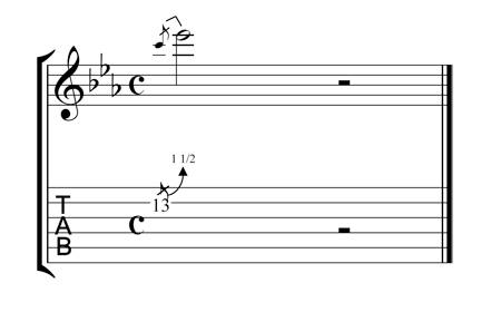 minor third guitar bend