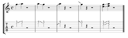 guitar slide tablature