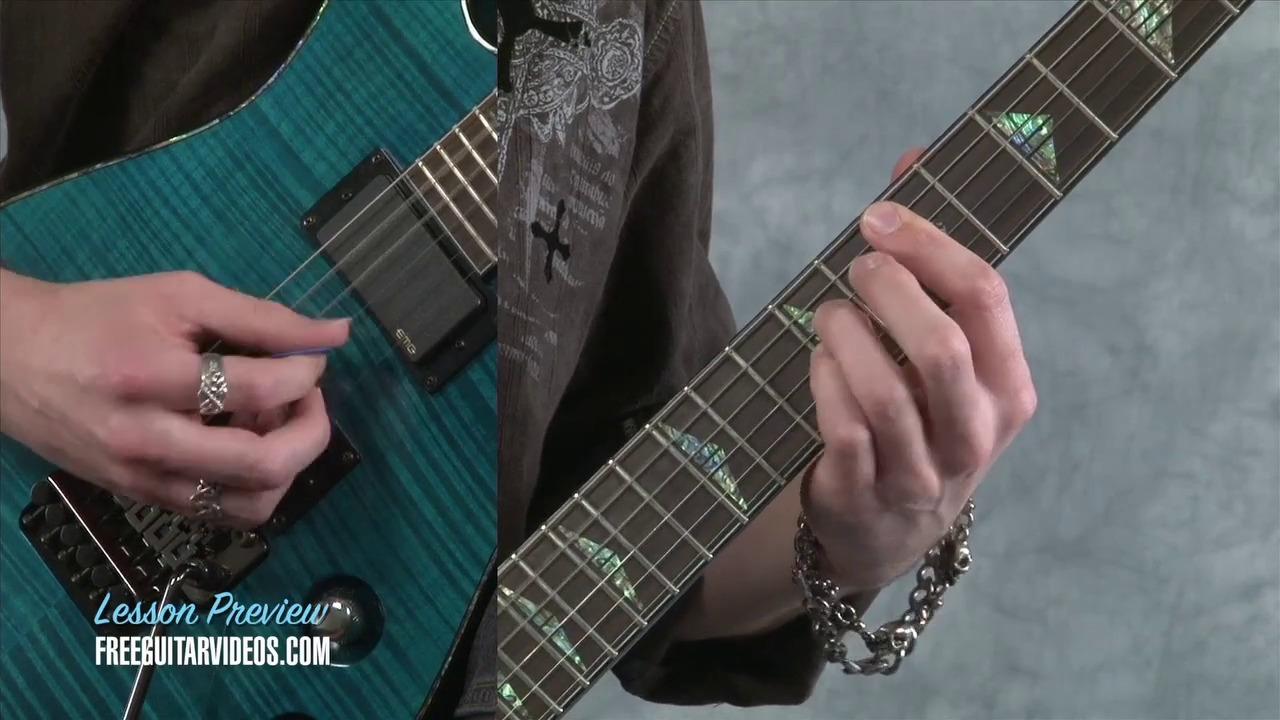 Tony Iommi Style Guitar Lesson